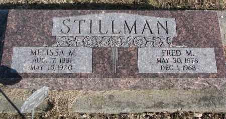 STILLMAN, FRED M. - Burt County, Nebraska   FRED M. STILLMAN - Nebraska Gravestone Photos
