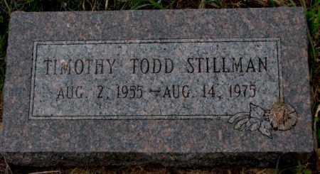 STILLMAN, TIMOTHY TODD - Burt County, Nebraska | TIMOTHY TODD STILLMAN - Nebraska Gravestone Photos