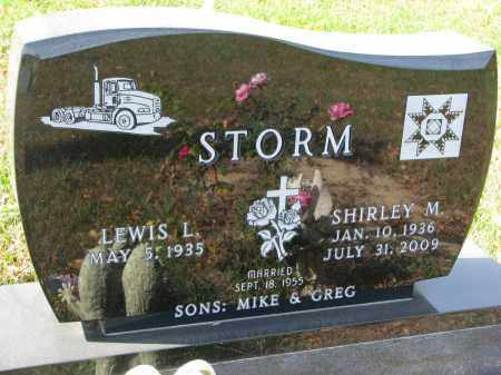 STORM, LEWIS L. - Burt County, Nebraska   LEWIS L. STORM - Nebraska Gravestone Photos