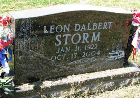 STORM, LEON DALBERT - Burt County, Nebraska   LEON DALBERT STORM - Nebraska Gravestone Photos