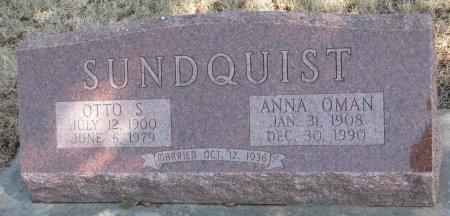 OMAN SUNDQUIST, ANNA JOSEPHINE - Burt County, Nebraska | ANNA JOSEPHINE OMAN SUNDQUIST - Nebraska Gravestone Photos