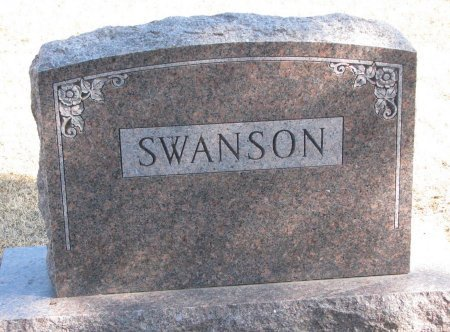 SWANSON, *FAMILY MONUMENT - Burt County, Nebraska | *FAMILY MONUMENT SWANSON - Nebraska Gravestone Photos