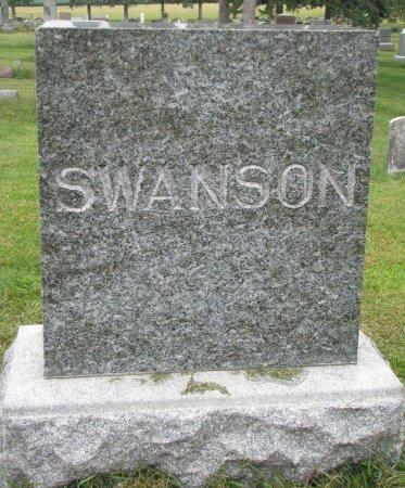 SWANSON, *FAMILY MONUMENT - Burt County, Nebraska   *FAMILY MONUMENT SWANSON - Nebraska Gravestone Photos