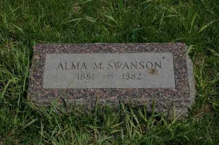SWANSON, ALMA M. - Burt County, Nebraska | ALMA M. SWANSON - Nebraska Gravestone Photos