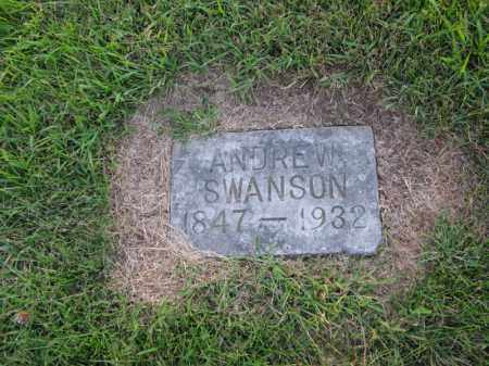 SWANSON, ANDREW - Burt County, Nebraska | ANDREW SWANSON - Nebraska Gravestone Photos