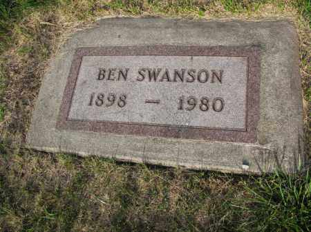 SWANSON, BEN - Burt County, Nebraska   BEN SWANSON - Nebraska Gravestone Photos