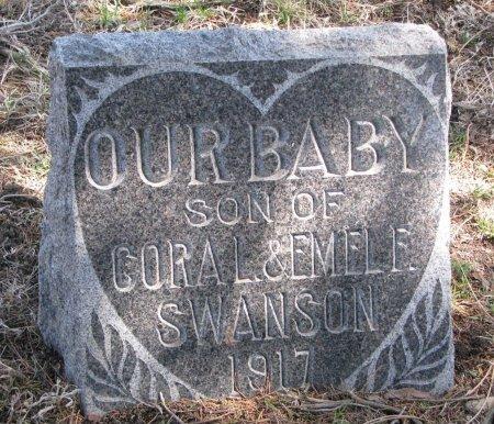 SWANSON, BABY SON - Burt County, Nebraska | BABY SON SWANSON - Nebraska Gravestone Photos