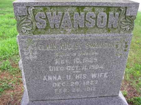 SWANSON, CLAUS AUGUST - Burt County, Nebraska   CLAUS AUGUST SWANSON - Nebraska Gravestone Photos