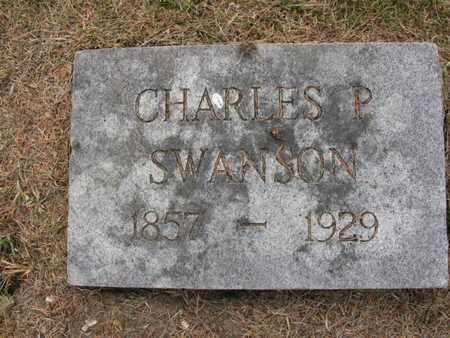 SWANSON, CHARLES P. - Burt County, Nebraska | CHARLES P. SWANSON - Nebraska Gravestone Photos