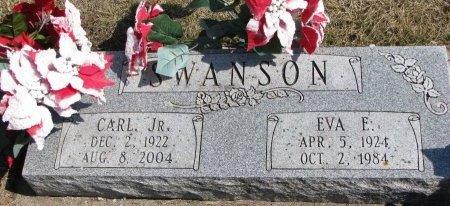 SWANSON, CARL JR. - Burt County, Nebraska | CARL JR. SWANSON - Nebraska Gravestone Photos