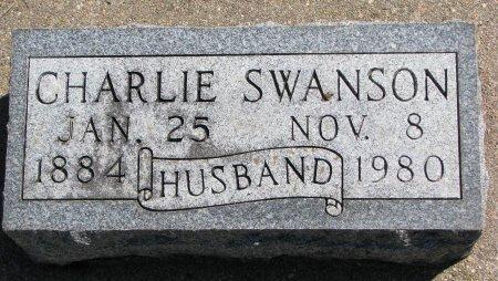 SWANSON, CHARLIE - Burt County, Nebraska | CHARLIE SWANSON - Nebraska Gravestone Photos