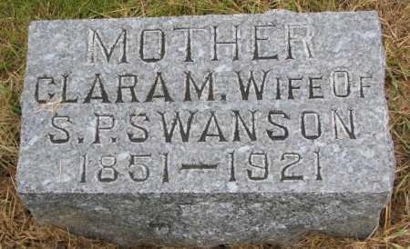 SWANSON, CLARA M. - Burt County, Nebraska   CLARA M. SWANSON - Nebraska Gravestone Photos