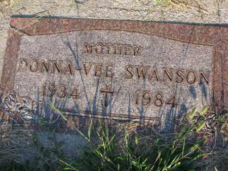 SWANSON, DONNA-VEE - Burt County, Nebraska | DONNA-VEE SWANSON - Nebraska Gravestone Photos