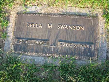 SWANSON, DELLA M. - Burt County, Nebraska   DELLA M. SWANSON - Nebraska Gravestone Photos