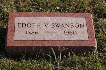 SWANSON, EDOPH V. - Burt County, Nebraska | EDOPH V. SWANSON - Nebraska Gravestone Photos
