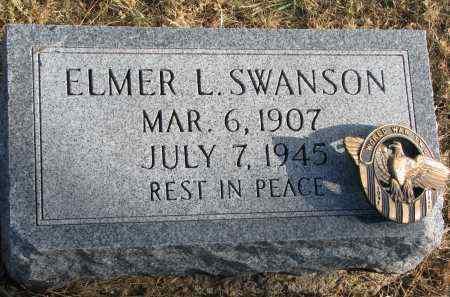 SWANSON, ELMER L. - Burt County, Nebraska | ELMER L. SWANSON - Nebraska Gravestone Photos