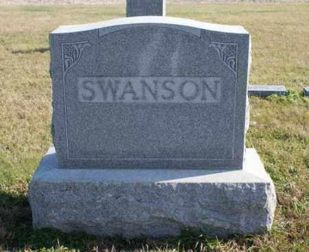 SWANSON, FAMILY - Burt County, Nebraska | FAMILY SWANSON - Nebraska Gravestone Photos