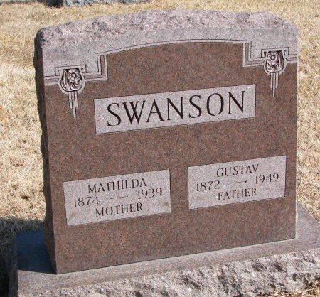 SWANSON, GUSTAV - Burt County, Nebraska | GUSTAV SWANSON - Nebraska Gravestone Photos