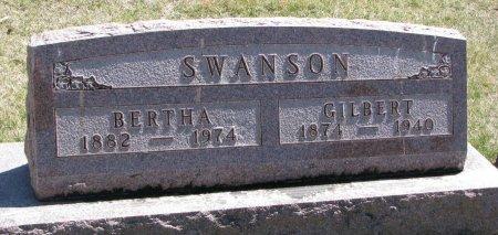SWANSON, GILBERT - Burt County, Nebraska | GILBERT SWANSON - Nebraska Gravestone Photos