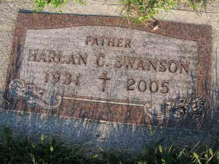 SWANSON, HARLAN C. - Burt County, Nebraska   HARLAN C. SWANSON - Nebraska Gravestone Photos