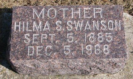 SWANSON, HILMA SOFIA CHRISTINA - Burt County, Nebraska   HILMA SOFIA CHRISTINA SWANSON - Nebraska Gravestone Photos