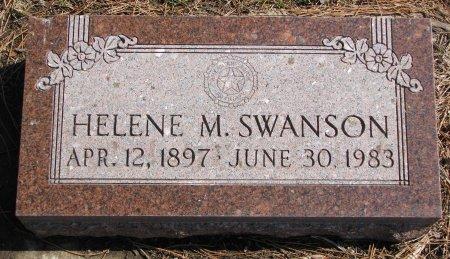 SWANSON, HELENE M. - Burt County, Nebraska | HELENE M. SWANSON - Nebraska Gravestone Photos