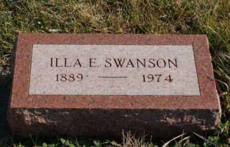 SWANSON, ILLA E. - Burt County, Nebraska | ILLA E. SWANSON - Nebraska Gravestone Photos