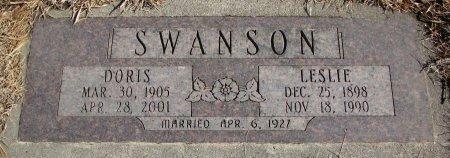 SWANSON, LESLIE - Burt County, Nebraska   LESLIE SWANSON - Nebraska Gravestone Photos