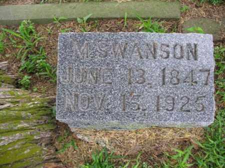 SWANSON, M - Burt County, Nebraska | M SWANSON - Nebraska Gravestone Photos