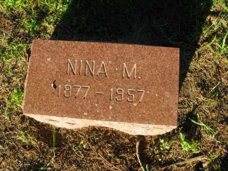 SWANSON, NINA M. - Burt County, Nebraska | NINA M. SWANSON - Nebraska Gravestone Photos
