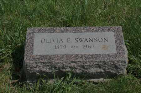 SWANSON, OLIVIA E. - Burt County, Nebraska | OLIVIA E. SWANSON - Nebraska Gravestone Photos