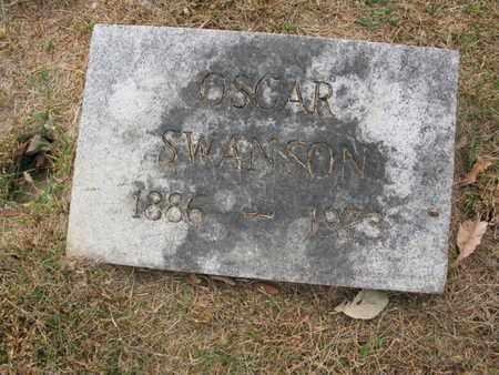 SWANSON, OSCAR - Burt County, Nebraska   OSCAR SWANSON - Nebraska Gravestone Photos