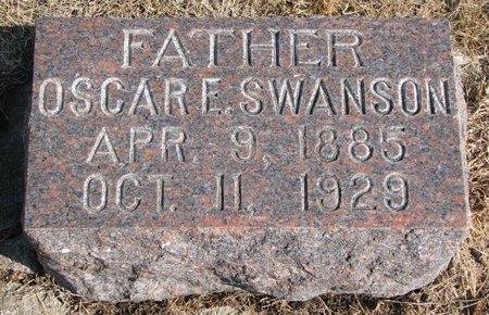 SWANSON, OSCAR E. - Burt County, Nebraska   OSCAR E. SWANSON - Nebraska Gravestone Photos
