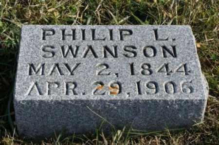 SWANSON, PHILIP L. - Burt County, Nebraska | PHILIP L. SWANSON - Nebraska Gravestone Photos