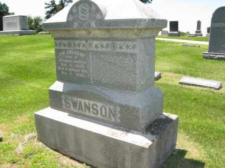 SWANSON, P.W. - Burt County, Nebraska | P.W. SWANSON - Nebraska Gravestone Photos