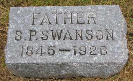 SWANSON, S.P. - Burt County, Nebraska | S.P. SWANSON - Nebraska Gravestone Photos