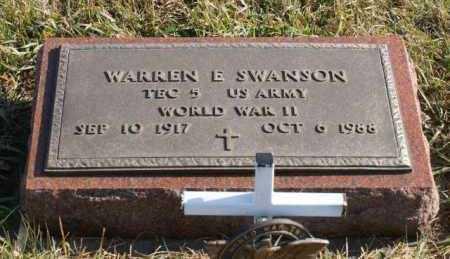 SWANSON, WARREN E. - Burt County, Nebraska | WARREN E. SWANSON - Nebraska Gravestone Photos