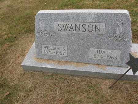 SWANSON, WILLIAM SIMON - Burt County, Nebraska | WILLIAM SIMON SWANSON - Nebraska Gravestone Photos