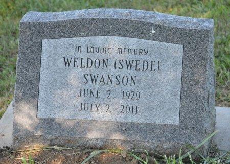 "SWANSON, WELDON EVALD ""SWEDE"" - Burt County, Nebraska | WELDON EVALD ""SWEDE"" SWANSON - Nebraska Gravestone Photos"