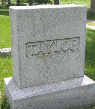 TAYLOR, *FAMILY MONUMENT - Burt County, Nebraska | *FAMILY MONUMENT TAYLOR - Nebraska Gravestone Photos