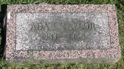 TAYLOR, ADA L. - Burt County, Nebraska | ADA L. TAYLOR - Nebraska Gravestone Photos
