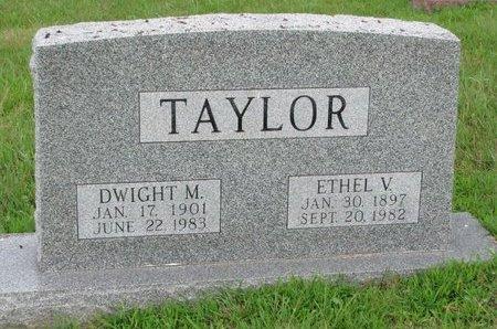 TAYLOR, DWIGHT M. - Burt County, Nebraska   DWIGHT M. TAYLOR - Nebraska Gravestone Photos