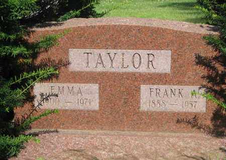 TAYLOR, FRANK A. - Burt County, Nebraska | FRANK A. TAYLOR - Nebraska Gravestone Photos
