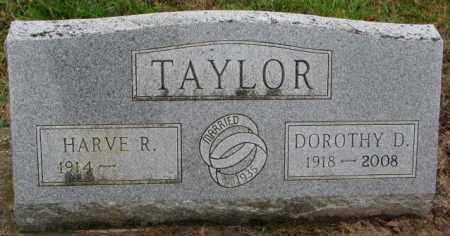 TAYLOR, DOROTHY D. - Burt County, Nebraska | DOROTHY D. TAYLOR - Nebraska Gravestone Photos