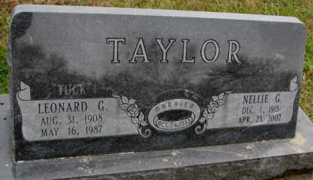 "TAYLOR, LEONARD G. ""TUCK"" - Burt County, Nebraska | LEONARD G. ""TUCK"" TAYLOR - Nebraska Gravestone Photos"
