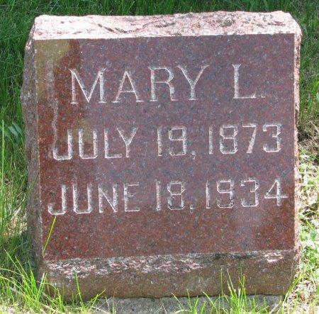 TAYLOR, MARY L. - Burt County, Nebraska | MARY L. TAYLOR - Nebraska Gravestone Photos