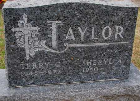 TAYLOR, SHERYL A. - Burt County, Nebraska   SHERYL A. TAYLOR - Nebraska Gravestone Photos