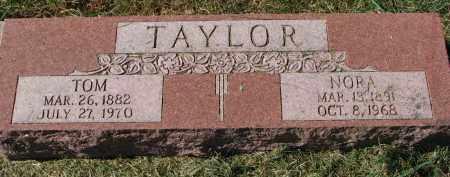 TAYLOR, TOM - Burt County, Nebraska | TOM TAYLOR - Nebraska Gravestone Photos