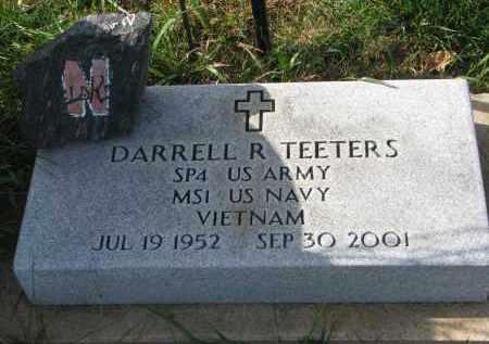 TEETERS, DARRELL R. - Burt County, Nebraska   DARRELL R. TEETERS - Nebraska Gravestone Photos