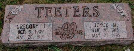 TEETERS, GREGORY J. - Burt County, Nebraska | GREGORY J. TEETERS - Nebraska Gravestone Photos